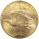 20-Dollars-Etats-Unis-Saint-Gaudens-Or-Revers