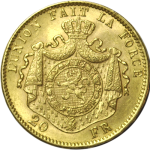 20-Francs-Union-Latine-Or-Revers