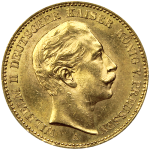 20-Reichsmarks-Allemagne-Or-Avers
