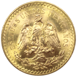 50-Pesos-Mexique-Or-Revers